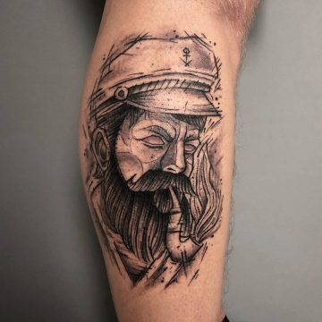 Sketch_Sailor_Seemann_Tattoo-Harry_Hafensänger-HH-Tattoostudio_Hamburg