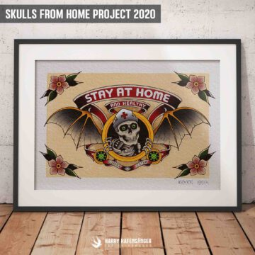 skulls-from-home-2020-digitale-ausstellung-harry hafensänger-ausstellung-berlin-vernissage-tattoo-oldschool-hamburg-tattoostudio-holy-harbor