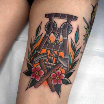 traditional-ruhrgebiet-ruhrpott-tattoo-oldschool-hamburg-tattoostudio-harry-hafensänger-holy-harbor
