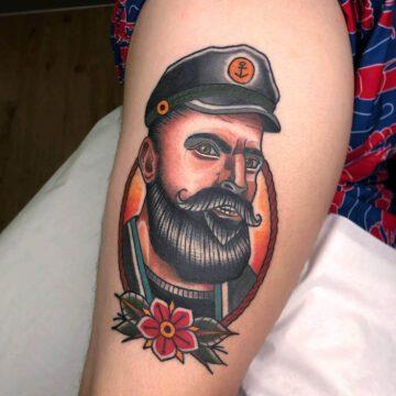 traditional-seemann-sailor-tattoo-oldschool-hamburg-tattoostudio-harry-hafensänger-holy-harbor