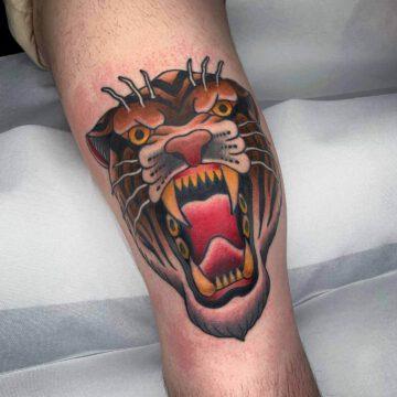 traditional-angry-tiger-tattoo-oldschool-hamburg-tattoostudio-harry-hafensänger-holy-harbor