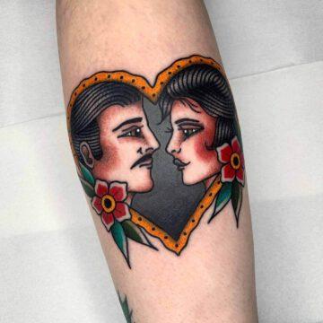 traditional-man-girl-couple-love-tattoo-oldschool-hamburg-tattoostudio-harry-hafensänger-holy-harbor